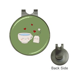 Cute Tea Hat Clips With Golf Markers by Valentinaart