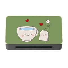 Cute Tea Memory Card Reader With Cf by Valentinaart