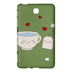 Cute Tea Samsung Galaxy Tab 4 (7 ) Hardshell Case  by Valentinaart