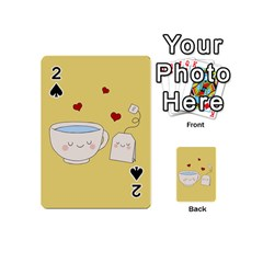 Cute Tea Playing Cards 54 (mini)  by Valentinaart