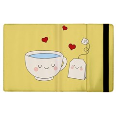 Cute Tea Apple Ipad 3/4 Flip Case by Valentinaart