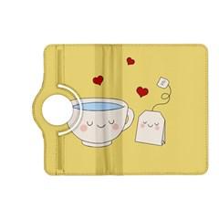 Cute Tea Kindle Fire Hd (2013) Flip 360 Case by Valentinaart