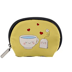 Cute Tea Accessory Pouches (small)  by Valentinaart