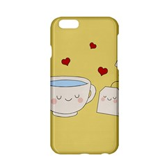 Cute Tea Apple Iphone 6/6s Hardshell Case by Valentinaart