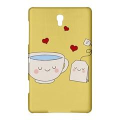 Cute Tea Samsung Galaxy Tab S (8 4 ) Hardshell Case