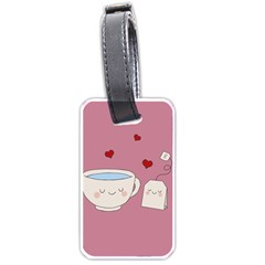 Cute Tea Luggage Tags (two Sides) by Valentinaart