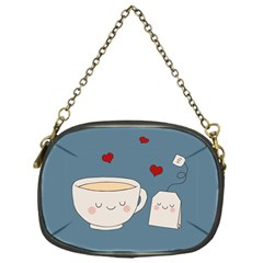 Cute Tea Chain Purses (one Side)  by Valentinaart