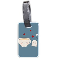 Cute Tea Luggage Tags (two Sides)