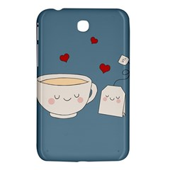 Cute Tea Samsung Galaxy Tab 3 (7 ) P3200 Hardshell Case  by Valentinaart