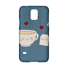 Cute Tea Samsung Galaxy S5 Hardshell Case  by Valentinaart