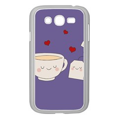 Cute Tea Samsung Galaxy Grand Duos I9082 Case (white) by Valentinaart