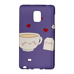 Cute Tea Galaxy Note Edge by Valentinaart