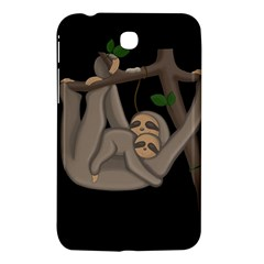 Cute Sloth Samsung Galaxy Tab 3 (7 ) P3200 Hardshell Case  by Valentinaart
