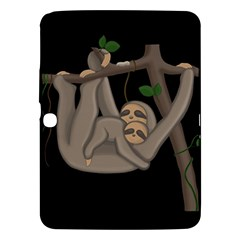 Cute Sloth Samsung Galaxy Tab 3 (10 1 ) P5200 Hardshell Case  by Valentinaart