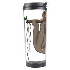 Cute Sloth Travel Tumbler by Valentinaart