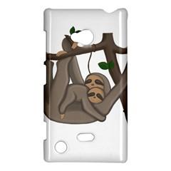 Cute Sloth Nokia Lumia 720 by Valentinaart