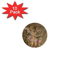 Cupid   Vintage 1  Mini Buttons (10 Pack)  by Valentinaart
