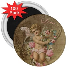 Cupid   Vintage 3  Magnets (100 Pack) by Valentinaart