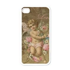 Cupid   Vintage Apple Iphone 4 Case (white) by Valentinaart
