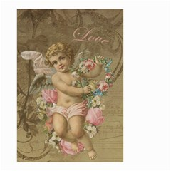 Cupid   Vintage Small Garden Flag (two Sides) by Valentinaart
