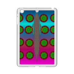 Meditative Abstract Temple Of Love And Meditation Ipad Mini 2 Enamel Coated Cases by pepitasart