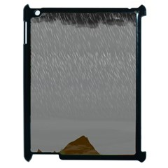 Misty Mountain Pt 2 Apple Ipad 2 Case (black) by Cosmicnaturescapes