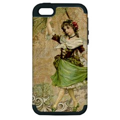 Fairy 1229005 1280 Apple Iphone 5 Hardshell Case (pc+silicone) by vintage2030