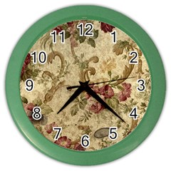 Background 1241691 1920 Color Wall Clocks by vintage2030