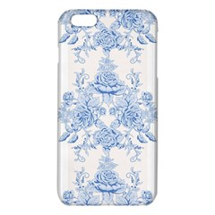 Beautiful,pale Blue,floral,shabby Chic,pattern Iphone 6 Plus/6s Plus Tpu Case by 8fugoso