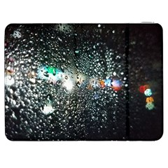 A Night Of Rain Samsung Galaxy Tab 7  P1000 Flip Case by julissadesigns