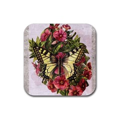Vintage 1181671 1920 Rubber Square Coaster (4 Pack)  by vintage2030