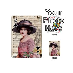 Vintage 1167768 1920 Playing Cards 54 (mini)  by vintage2030