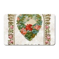 Valentines Day 1171148 1920 Magnet (rectangular) by vintage2030