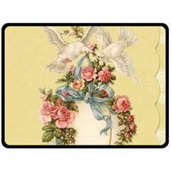 Easter 1225798 1280 Double Sided Fleece Blanket (large)  by vintage2030