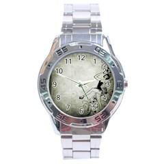 Grunge 1133693 1920 Stainless Steel Analogue Watch by vintage2030