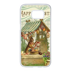 Easter 1225826 1280 Samsung Galaxy S7 Edge White Seamless Case by vintage2030