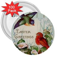Easter 1225824 1280 3  Buttons (100 Pack)  by vintage2030