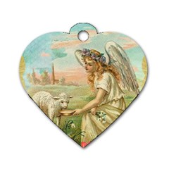 Easter 1225814 1280 Dog Tag Heart (two Sides) by vintage2030