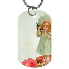 Vintage 1225887 1920 Dog Tag (one Side) by vintage2030