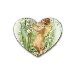 Fairy 1225819 1280 Heart Coaster (4 Pack)  by vintage2030