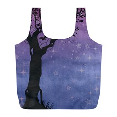 Silhouette 1131861 1920 Full Print Recycle Bags (l)  by vintage2030