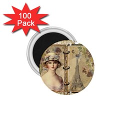 Paris 1122617 1920 1 75  Magnets (100 Pack)  by vintage2030