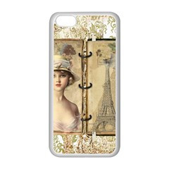 Paris 1122617 1920 Apple Iphone 5c Seamless Case (white) by vintage2030