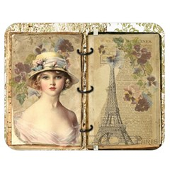 Paris 1122617 1920 Double Sided Flano Blanket (medium)  by vintage2030