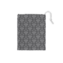 Damask 937606 960 720 Drawstring Pouches (small)  by vintage2030