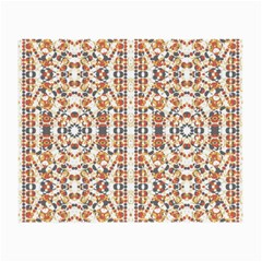 Multicolored Geometric Pattern  Small Glasses Cloth (2 Side) by dflcprints