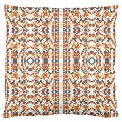 Multicolored Geometric Pattern  Large Cushion Case (two Sides) by dflcprints