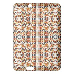 Multicolored Geometric Pattern  Kindle Fire Hdx Hardshell Case by dflcprints