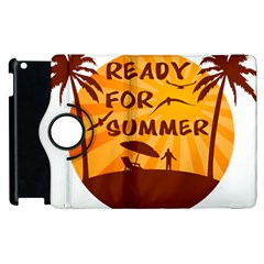 Ready For Summer Apple Ipad 3/4 Flip 360 Case by Melcu