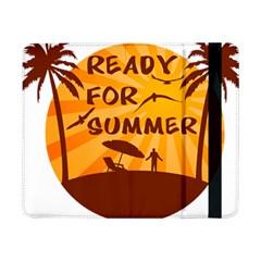 Ready For Summer Samsung Galaxy Tab Pro 8 4  Flip Case by Melcu